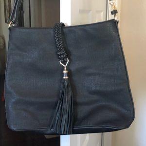 Stella and Black tassel purse